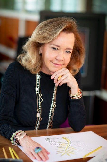 Каролина Шойфеле, художественный руководитель и сопрезидент Chopard