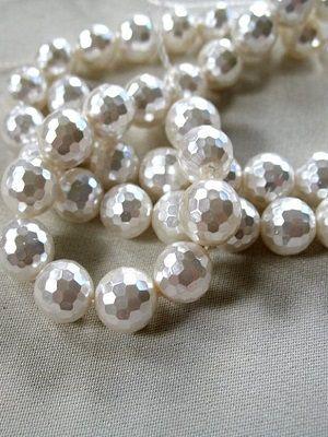 Граненый жемчуг в ювелирных украшениях