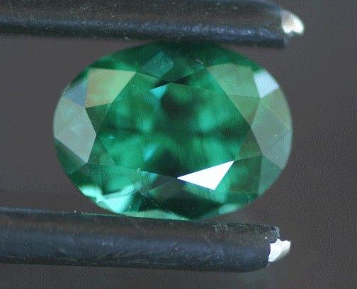Апатит зелено-голубого цвета