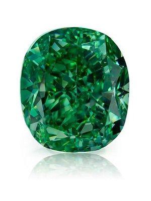 Существуют ли зеленые алмазы