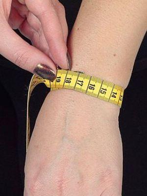 измерение диаметра руки