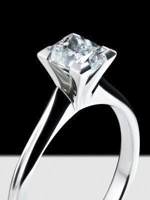 кольцо в минималистическом стиле