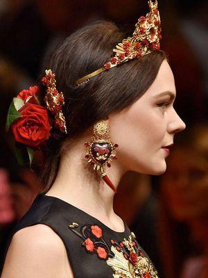 стиль барокко в женском образе