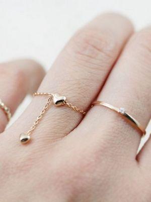 аккуратный дизайн кольца