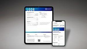 Отчеты о синтетических бриллиантах от GIA