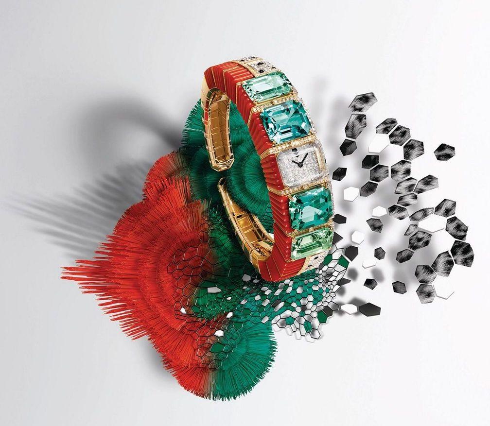Часы Panthère Tropicale от Cartier