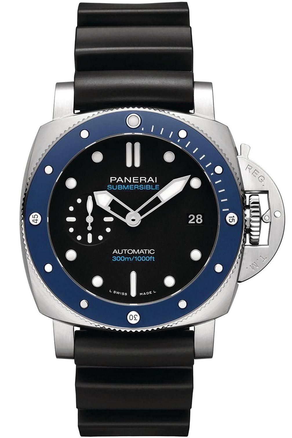 Submersible Azzurro 42 mm PAM01209 от Panerai