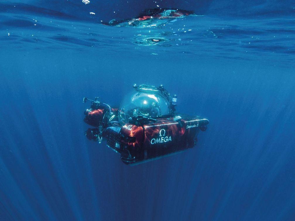 Nekton использует одни из самых современных в мире глубоководных аппаратов