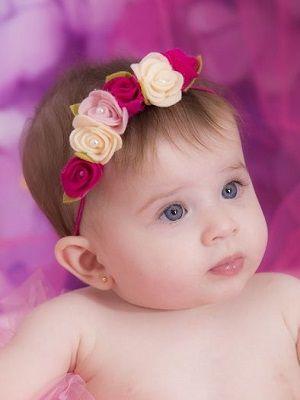 Когда безопасно прокалывать уши маленьким деткам