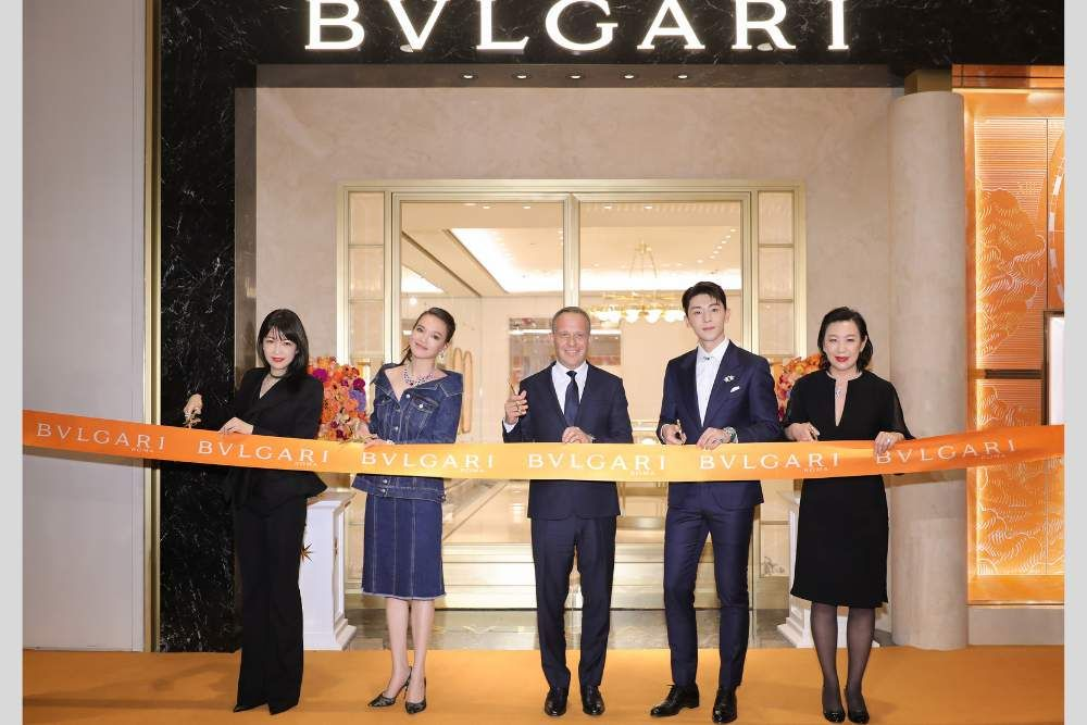 Новый флагманский магазин Bvlgari в Plaza 66, Китай