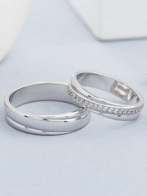 кольца из родированного серебра