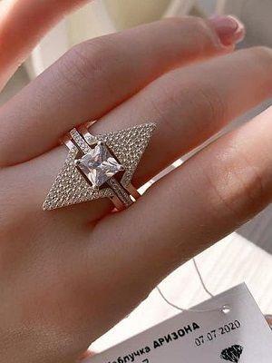 кольцо с биркой