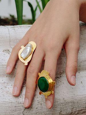 массивные кольца