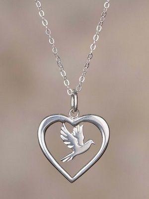 серебряное сердце