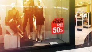 Продажи ювелирных изделий в Черную пятницу