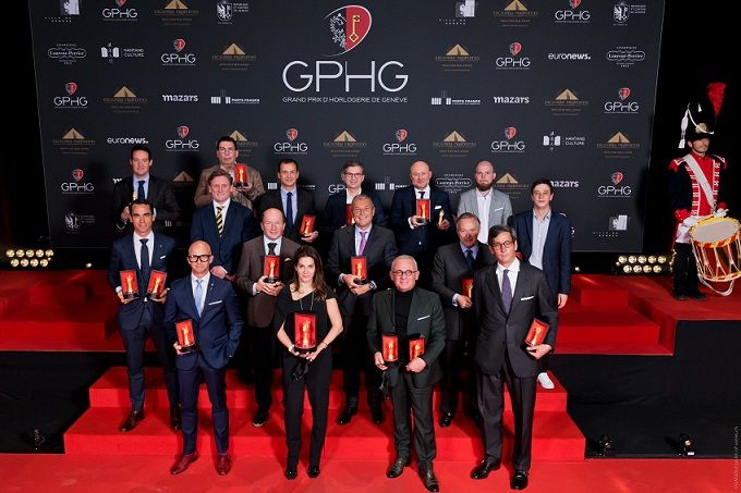 лауреаты 2020 Grand Prix d'Horlogerie de Genève