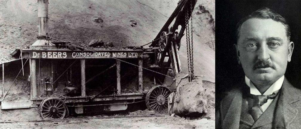 De Beers Consolidated Mining Company и Сесил Родс