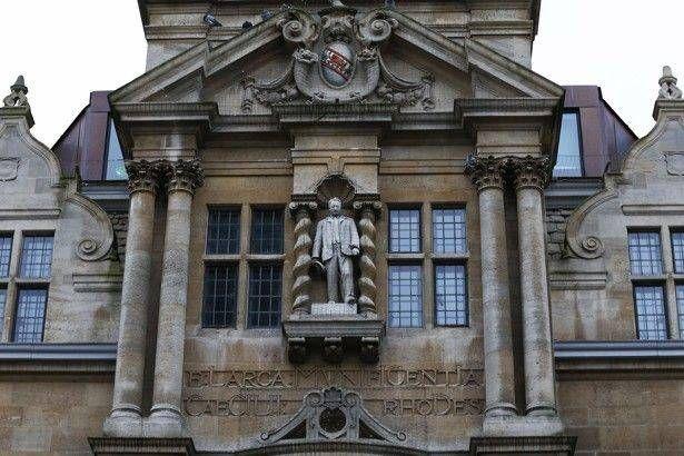 Памятник в Оксфорде, Сесил Родс