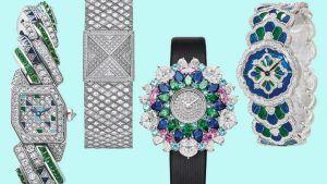 5 новых ослепительных ювелирных часов, которые добавят праздничного блеска