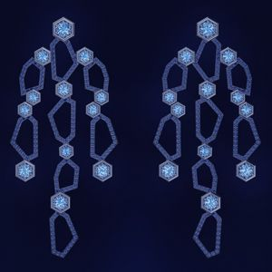 Серьги Luminous Diamonds с бриллиантами