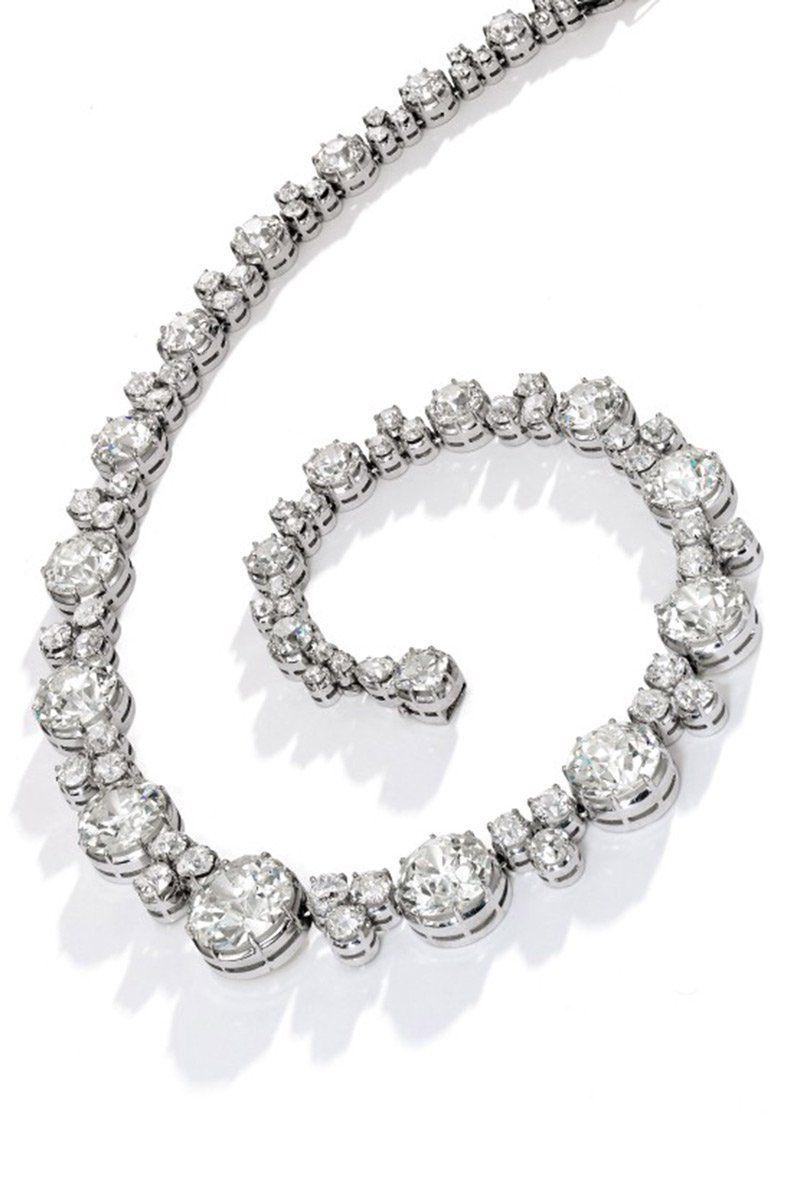 Ожерелье Diamond rivière от Bulgari