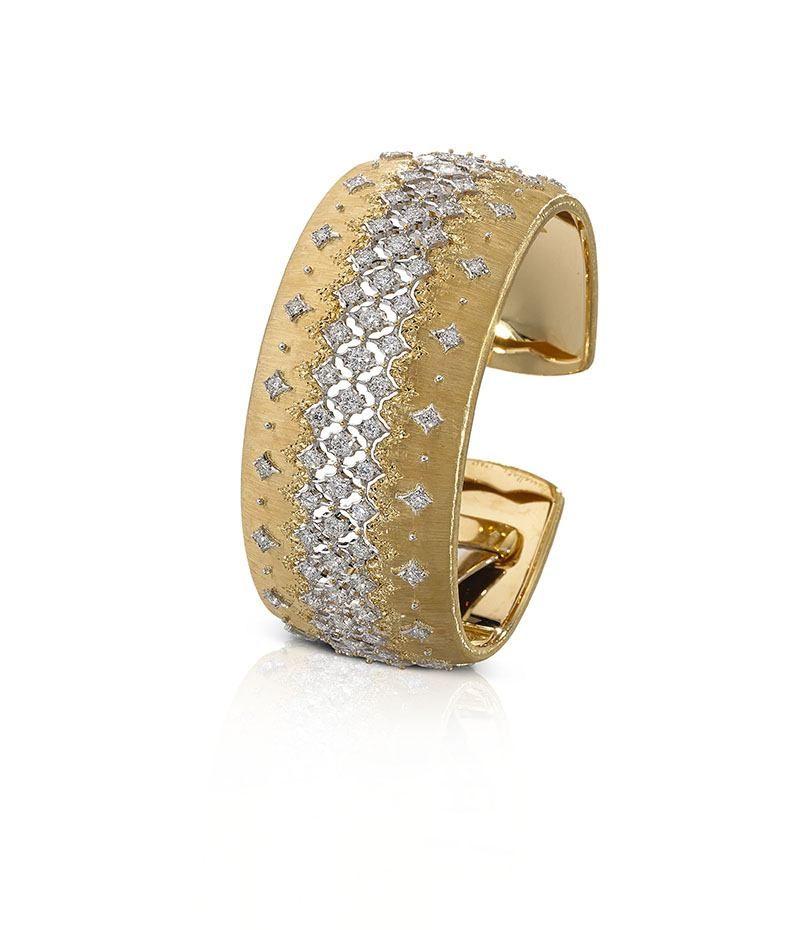 Браслет-манжета Buccellati с бриллиантами