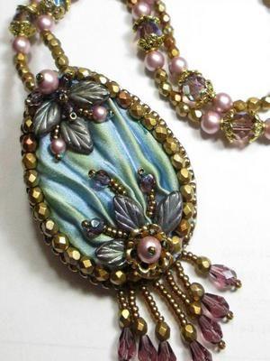 Ювелирные украшения в стиле шибори