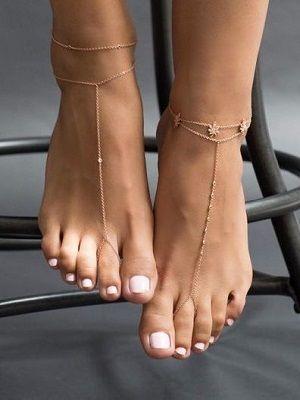 браслеты на ногах