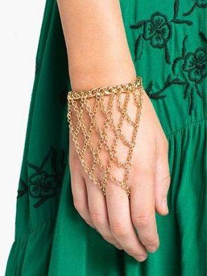 необычный женский браслет
