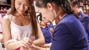 Рост продаж предметов роскоши в Китае