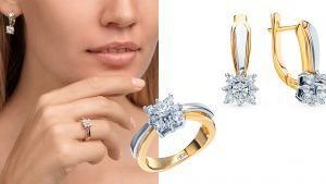Обручальное кольцо с кубическим цирконием или с бриллиантом: что выбрать?