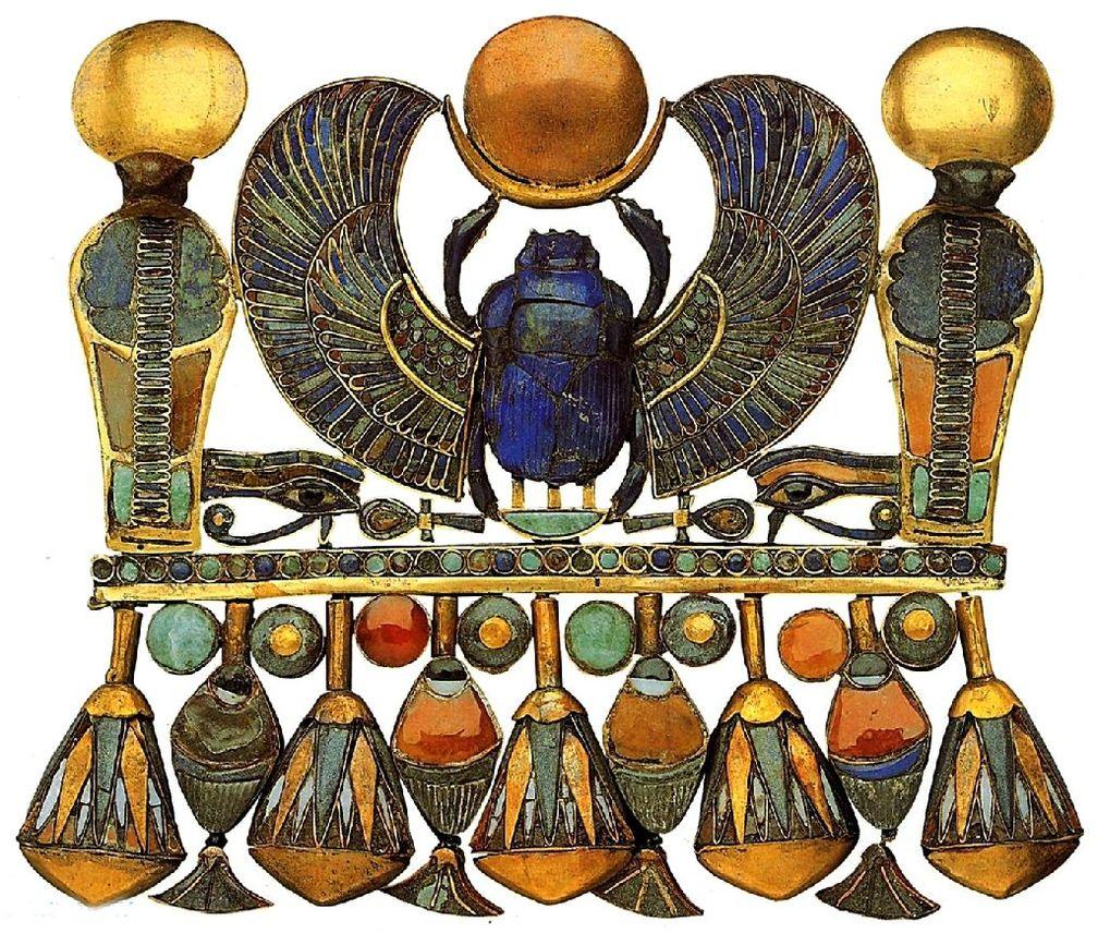 Сердце скарабея - погребальный амулет для Египтян
