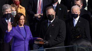 Вице-президент Камала Харрис на свою историческую инаугурацию надела жемчуг от американского ювелира W.Rosado