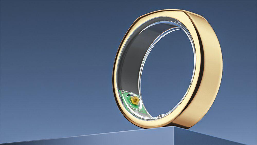 Кольцо Heritage Gold Oura ограниченного выпуска