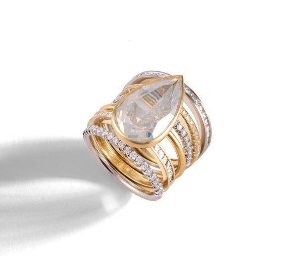 Кольцо Spiral от Sylva & Cie