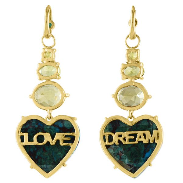 Обратная сторона серег Dream Love