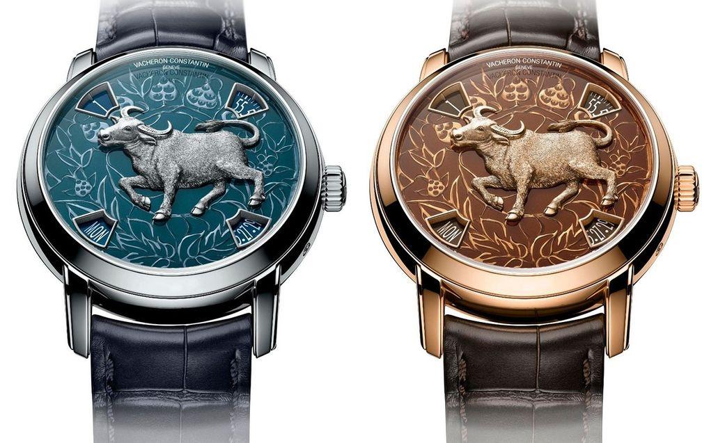 Metiers d'art Year Of The Ox от Vacheron Constantin из платины и из розового золота