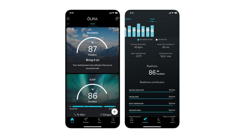 Кольцо Oura отправляет данные о состоянии здоровья прямо в электронное приложение