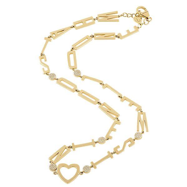 Колье Golden Mantra из желтого золота с бриллиантами