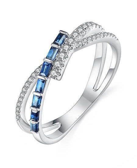 Кольцо Elsa Blue Sapphire от Access79