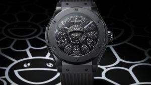 Такаси Мураками и Hublot объединились для создания потрясающих часов с черными бриллиантами