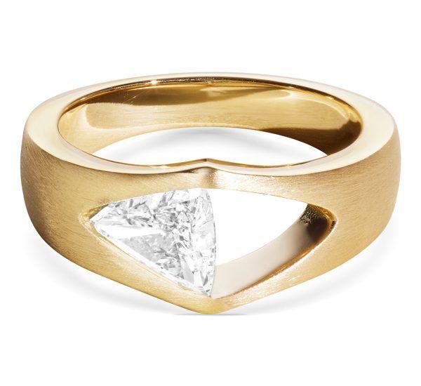 Кольцо Trikona Diamond от Aaryah