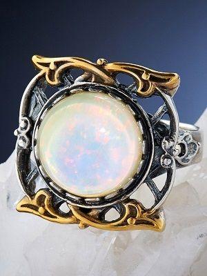 Гиалит: свойства камня и применение в ювелирном деле