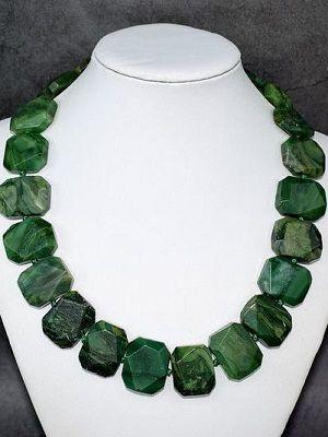 ожерелье с вердитом