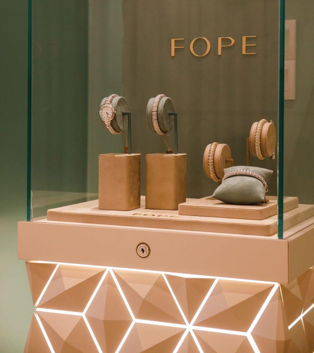 Итальянский ювелирный бренд FOPE