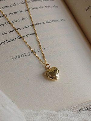 медальон сердечко