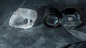 Компания Lucara Diamond добыла алмаз весом 341 карат на руднике Карове
