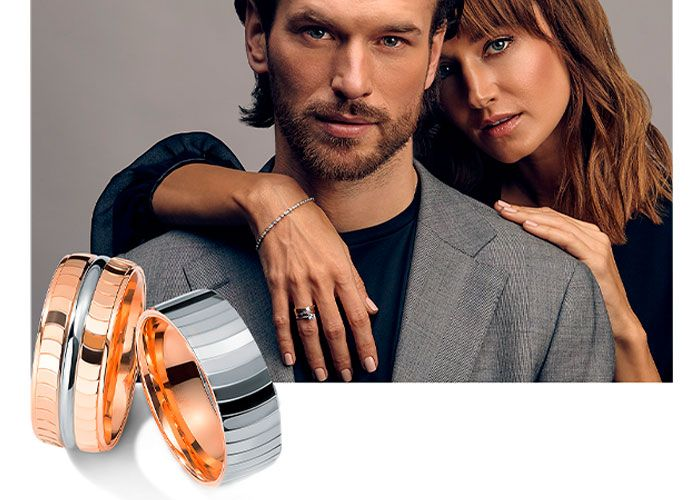 Модные мужчкие кольца