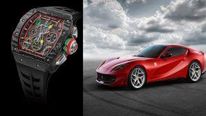 «Гоночные машины для запястья»: Ferrari и Richard Mille объединились для создания новых часов