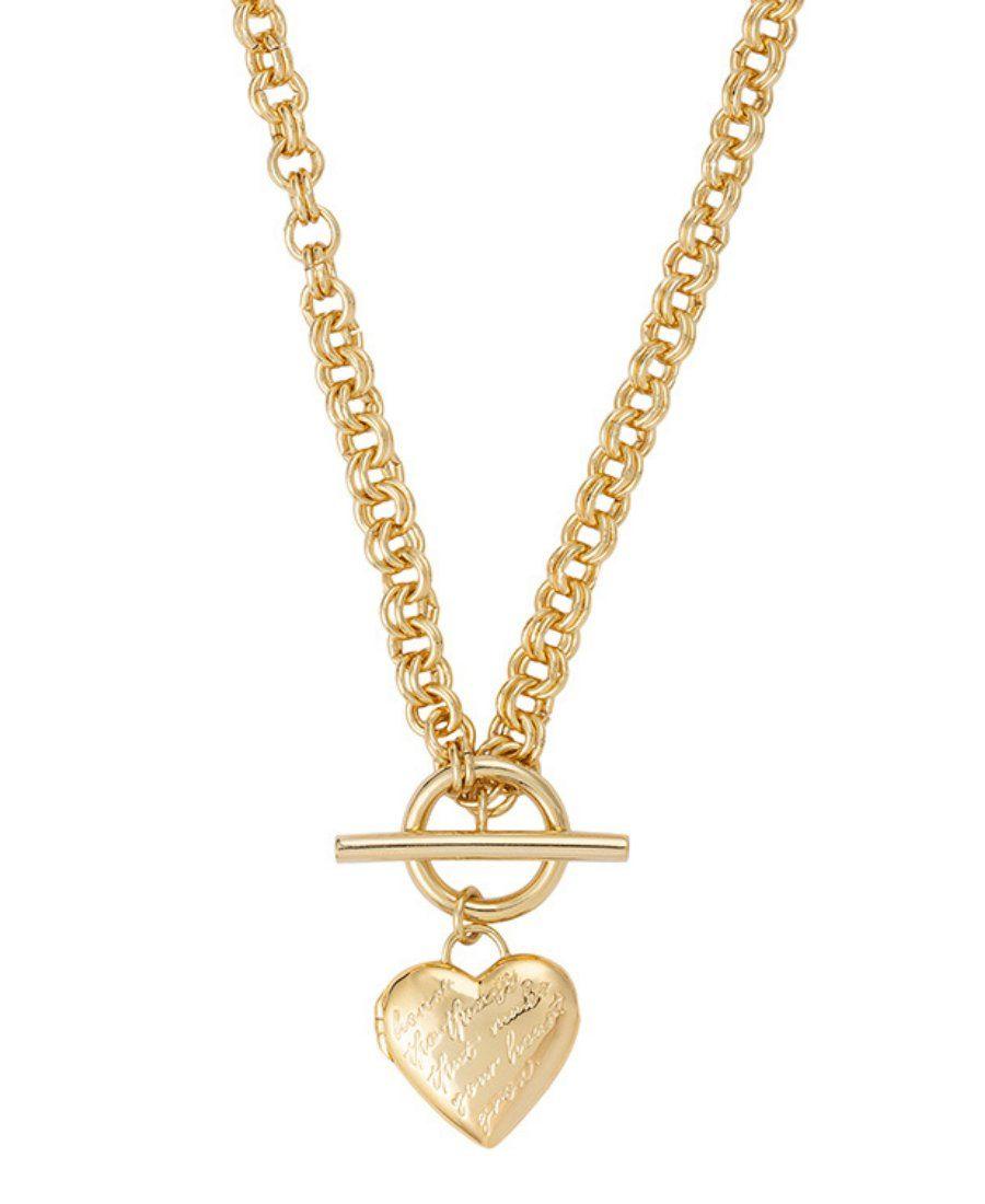 Ожерелье-медальон Honor Heart Mantra с розовой эмалью и ручной росписью внутри